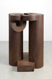 'Basoa IV', 1990, by Eduardo Chillida