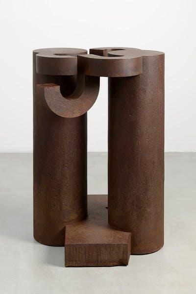 'Basoa IV', 1990, by Eduardo Chillida