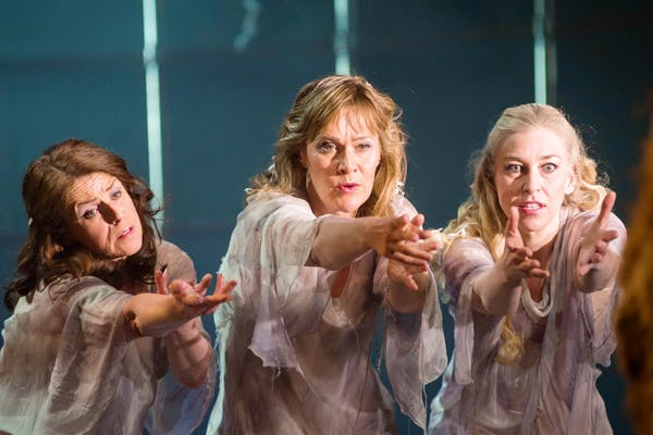 Give us our gold: the Rhinemaidens in 'Das Rheingold' at Longborough