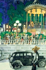 What a painter: 'El Paseo', c.1938, by Edward Burra