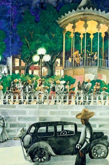 What a painter: 'El Paseo', c.1938, by Edward Burra