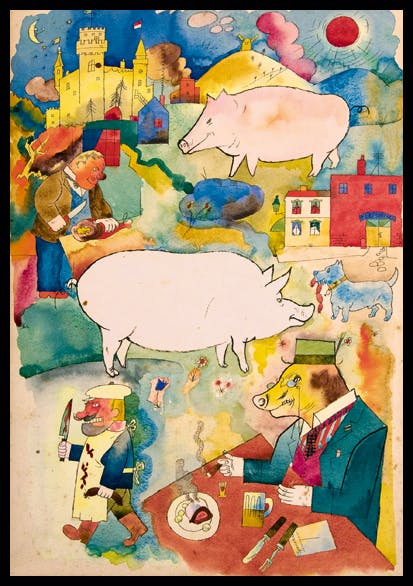 'Sonniges Land' (Sunny Land), 1920, by George Grosz