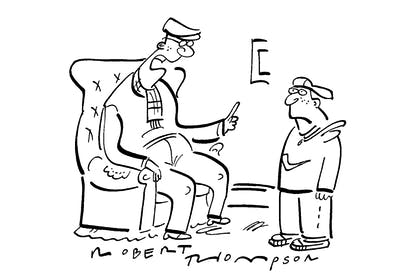 'Percy Edwards...now he could tweet.'