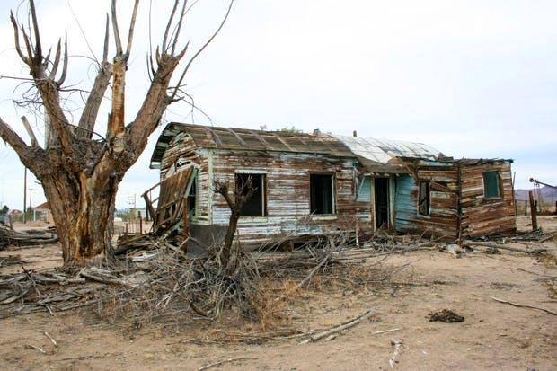 Ruin near Kelso, Mojave Desert, California