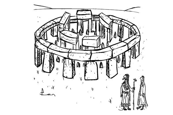 'That's the visitor centre finished. When do we start building the actual monument?'