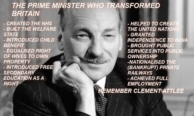 Attlee, freedom fighter