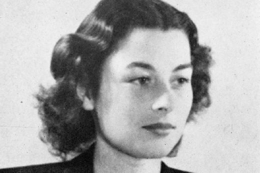 Violette Szabo, an S.O.E agent who worked out of Tempsford