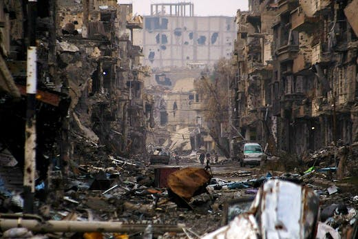 Deir Ezzor, Syria, January 2014 Photo: AFP/Getty