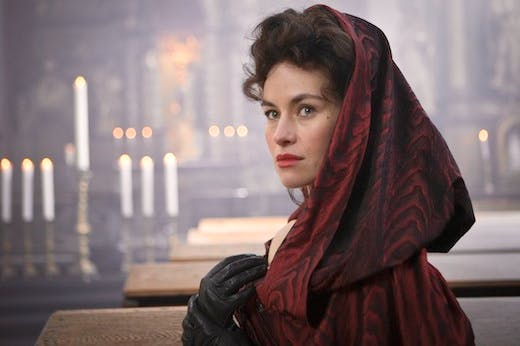 Maimie McCoy as Milady in 'The Musketeers'