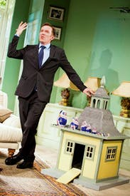 Ben Miller as Robert Houston MP in 'The Duck House'