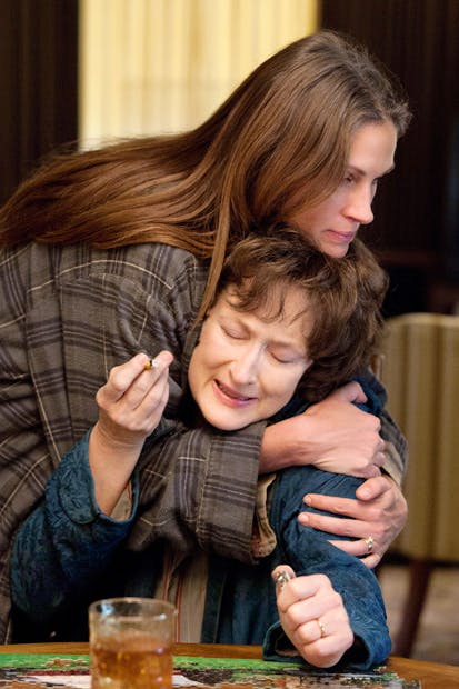 Julia Roberts and Meryl Streep in 'August: Osage County'