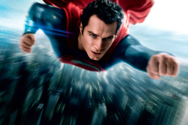 Henry Cavill starred in last year's American blockbuster Man of Steel, based on the DC Comic hero, Superman
