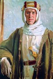 Portrait of T.E. Lawrence by Augustus John