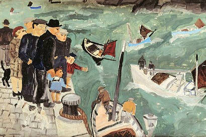 'Herring Fisher's Goodbye', 1928, by Christopher Wood