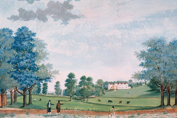 'Harmony and order were what Jane Austen sought in her life and work'. Chawton House, in Hampshire (above), was inherited by Jane's brother, Edward.
