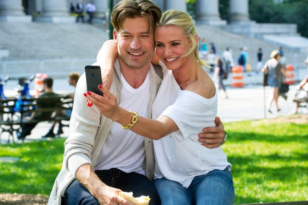 Failing the Bechdel test: Nikolaj Coster-Waldau and Cameron Diaz in 'The Other Woman'