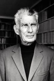 Samuel Beckett in Paris in the 1970s