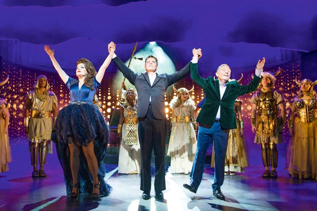 An upmarket panto with top-quality jokes and strong tunes: Jordy, Simon and Louis