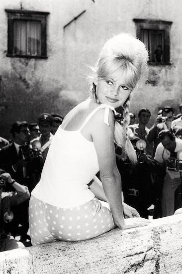 'Brigitte Bardot in Spoleto', 1961, by Marcello Geppetti