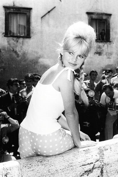 'Brigitte Bardot in Spoleto', 1961, by Marcello Geppetti