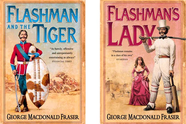 The success of the Flashman series owed something to the inspired choice of Arthur Barbosa as designer of the covers