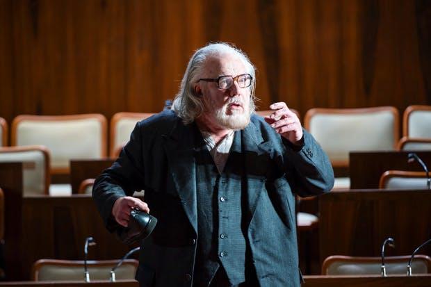 Towering but vulnerable presence: John Tomlinson as Moses