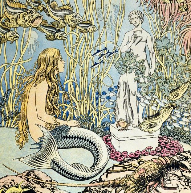 The Little Mermaid, illustrated by Ivan Bilibin