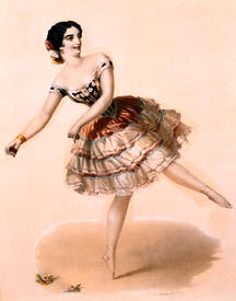 Josefa Duran, the flamenco dancer known as 'Pepita'