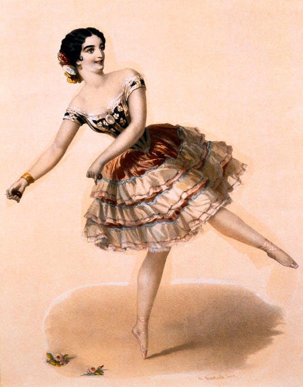 Josefa Duran, the flamenco dancer known as 'Pepita'