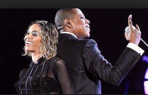 Queen Bey, with king