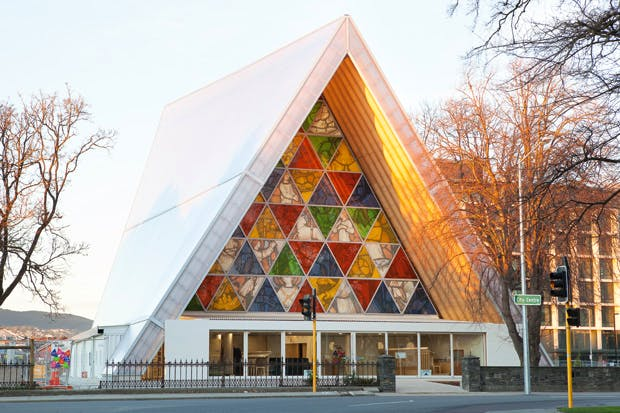 Shigeru Ban's Cardboard Cathedral, Christchurch