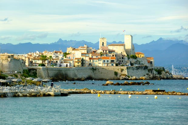 View of Antibes