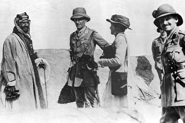 Gertrude Bell with Sir Percy Cox on a visit to Mesopotamia in 1917. 'She was never actually a member of the Foreign Office; rather a semi-detached and useful wartime extra'. mansell/time&life pictures/getty images