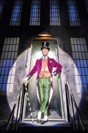 Alex Jennings: still experimenting with the Wonka character