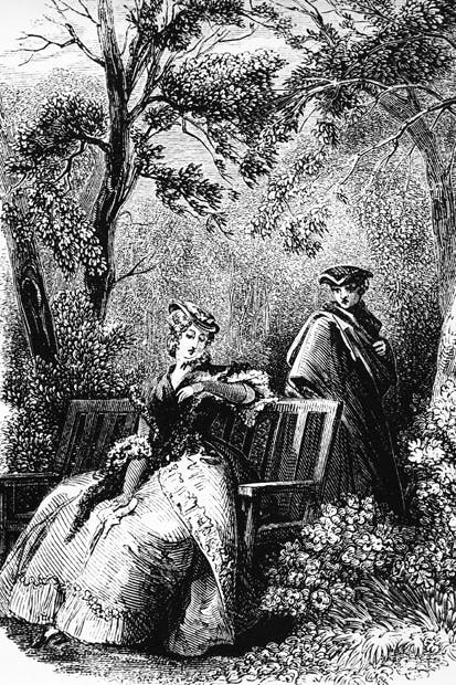 'Jeanne arranged for a Marie Antoniette lookalike to linger coyly in the undergrowth in the park at Versailles'
