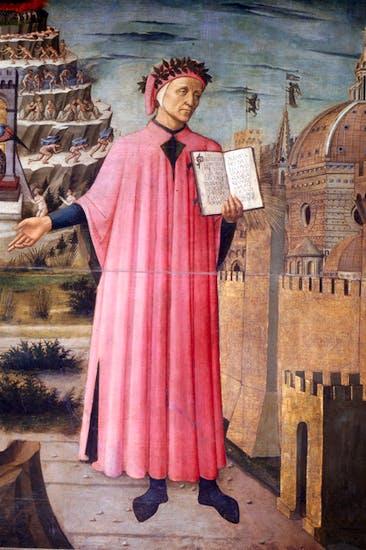 Portrait of Dante by Domenico di Michelino