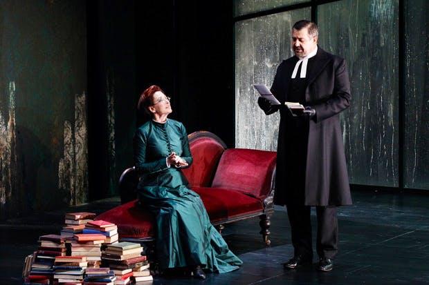 Lacklustre, pompous: Linda Cropper and Philip Quast