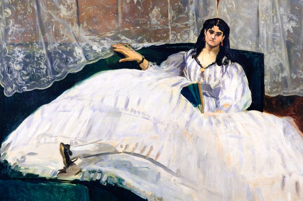 Portrait of Jeanne Duval by Edouard Manet