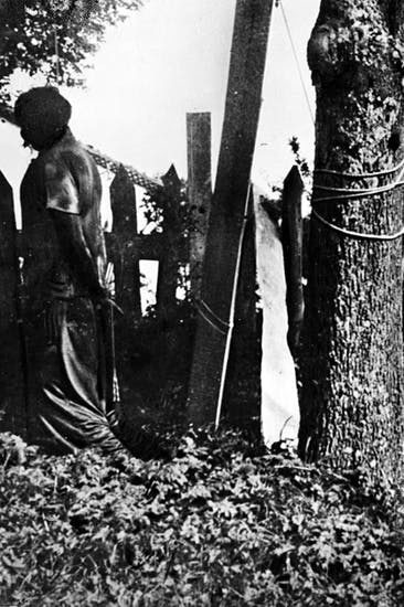 Appalling retributions and atrocities marked the end of the Free Republic of the Vercors. A French Resistance fighter is hanged in 1944