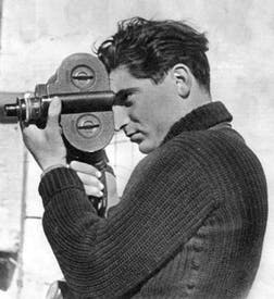 Robert Capa in Picture Post, featuring his Spanish civil war photo-journalism, December 1938