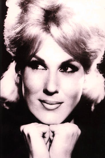 Leading with the chin: Dusty Springfield in the mid 1960s