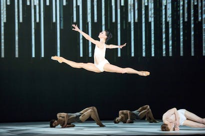 Natalia Osipova in the Royal Ballet's 'Connectome', choreographed by Alastair Marriott