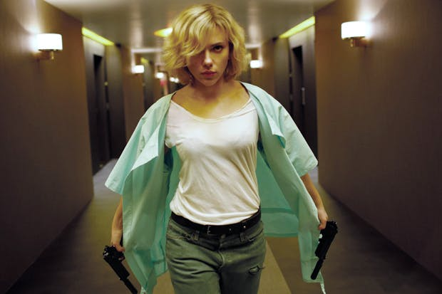 Inhuman being: Scarlett Johansson as Lucy