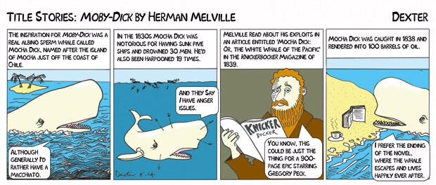 an overview of the moby dick story by herman melville Herman melville (august 1, 1819 – september 28, 1891) was an american novelist, short story writer, and poet of the american renaissance period his best known works include typee (1846), a romantic account of his experiences in polynesian life, and his whaling novel moby-dick (1851.