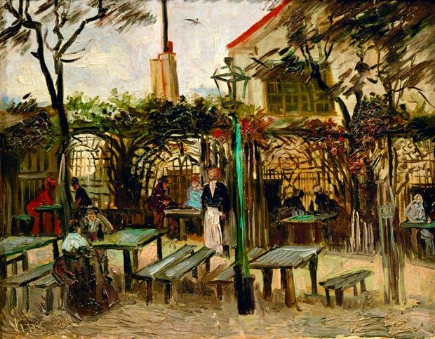 'La Guingette à Montmartre' by Van Gogh (1886)