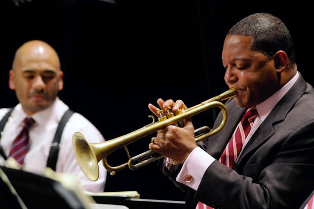Wynton Marsalis: 'The pressure of playing in public makes it all for real'