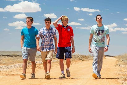 Daft, and sensationally innocent: the Inbetweeners down under