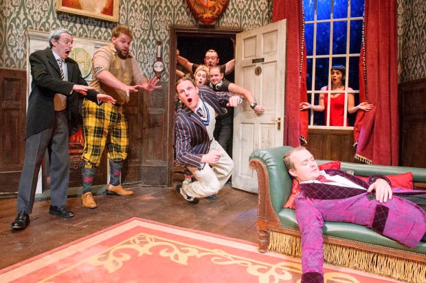 The Play That Goes Wrong. Photo: Alastair Muir