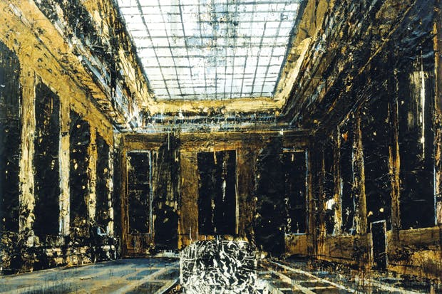 'Interior (Innenraum)', 1981, by Anselm Kiefer