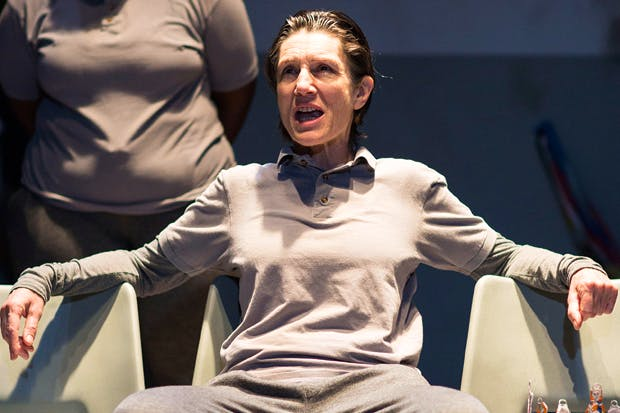 Harriet Walter as King Henry